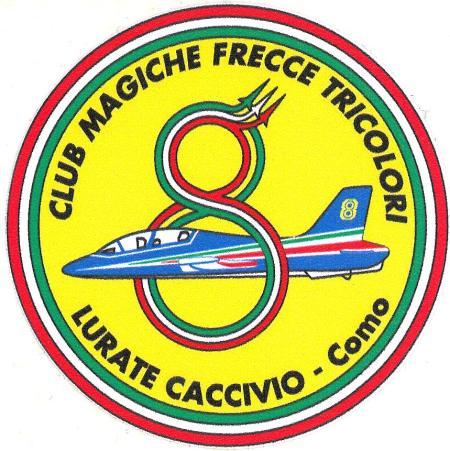 Logo club magiche frecce tricolori