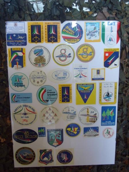 adesivo frecce tricolori club n.8 lurate caccivio como